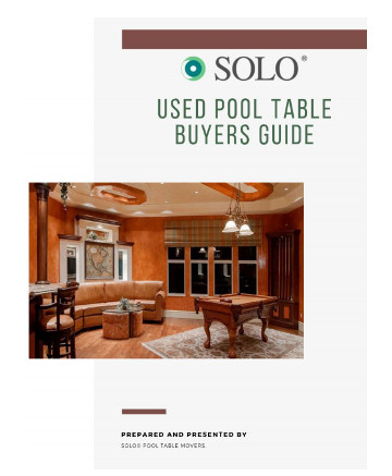 Pool table buyers guide-SOLO\u00ae Pool Table Movers