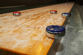SOLO® Shuffleboard Movers Muncie, Indiana.